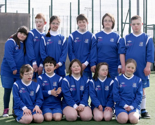 Down Syndrome Galway Soccer Team