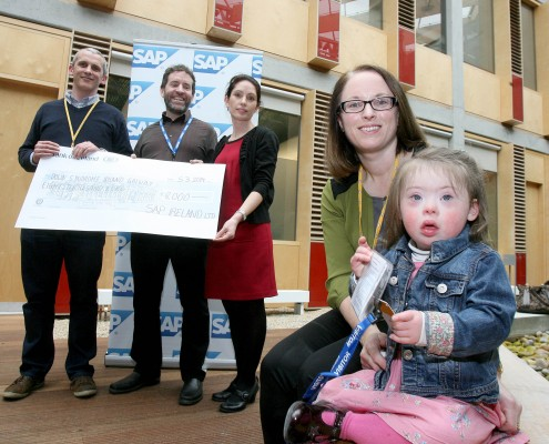 SAP Ireland have provided us with a second grant of €8,000 towards our Numicon Project 2015.