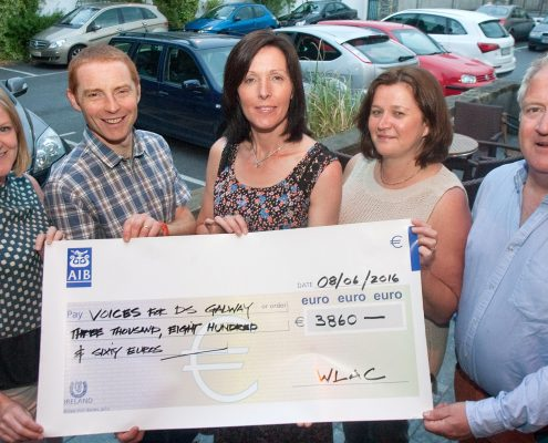 WLAC cycle event 2016 raised €3860 in support of VFDSG