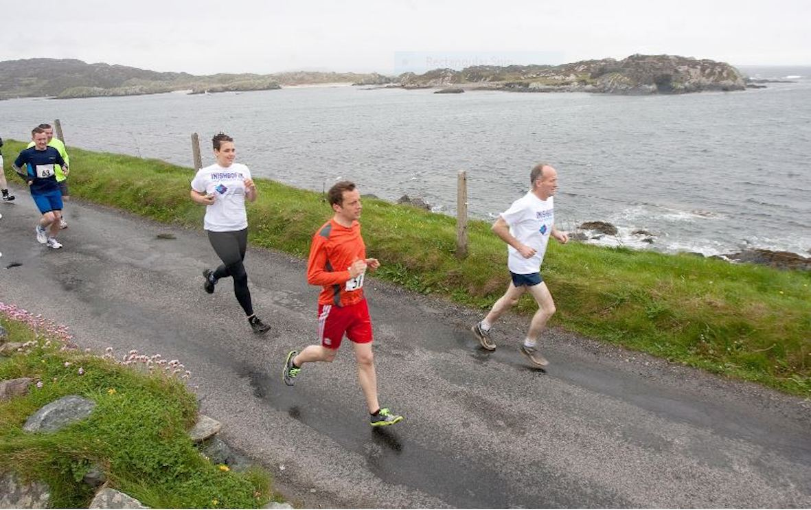 Inishbofin Half Marathon photo 2016-front