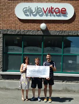 Club Vitae 24hr Swimathon 2016 raised €2950 in support of VFDSG
